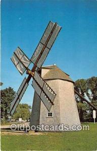Cape Cod, Mass, USA Historic Windmill at Orleans