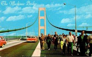 Michigan The Mackinac Bridge Public Bridge Walk