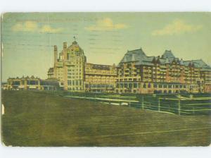 D-back BOARDWALK AT MARLBOROUGH HOTEL Atlantic City New Jersey NJ HQ5427