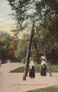 Michigan Detroit Liberty Bell At Palmer Park 1911
