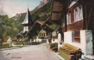 Switzerland Meyringen Street Scene