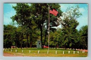 Parkersburg, Rhinehart Circle WW II Memorial Park, Chrome West Virginia Postcard