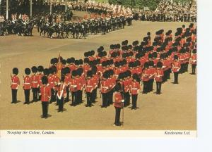 Postal 022213 : Trooping the Colour, London