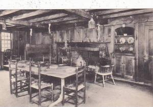 Massachusetts South Sudbury The Old Kitchen Longfellows Wayside Inn Albertype