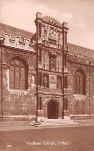 Oxford United Kingdom, Great Britain, England Wadham College Oxford Wadham Co...