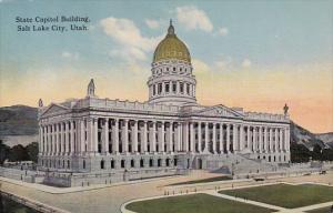 Utah Salt Lake City State Capitol Building