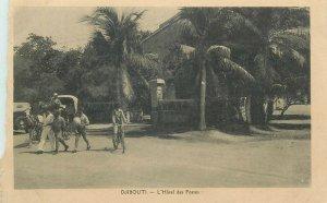DJIBOUTI - hotel des postes ( trimmed )