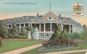 NIAGARA FALLS, Ontario, Canada, 1900-1910s; The Clifton Hotel