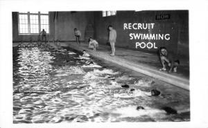 Camp Dewey North Carolina Swimming Pool Real Photo Antique Postcard K38493