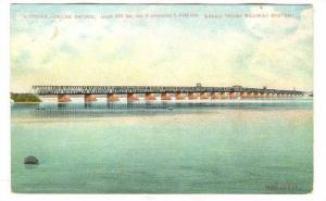 Victoria Jubilee Bridge, Grand Trunk Railway System, Montreal, Quebec,Canada,...