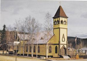 Exterior, St. Paul's Church,  Dawson City, Yukon Territory,  Canada,  50-70s