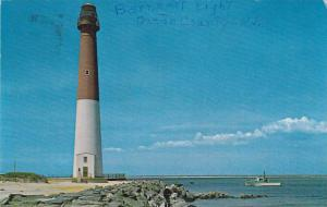 Fishing Boat Near Historic Barnegat Lighthouse, Barnegat Lighthouse State Par...