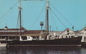 Schooner AMERICAN , Cape May , New Jersey , 50-60s