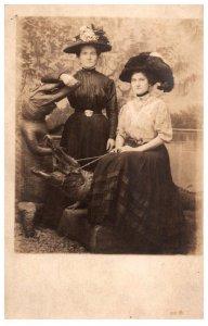 Studio Photo  Women with Alligators  RPC