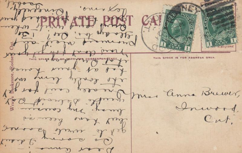 RODNEY , Ontario , Canada , 1915 ; 20-view postcard