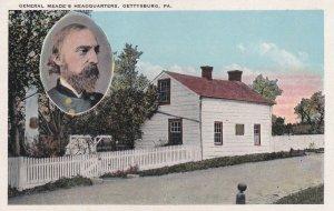 GETTYSBURG, Pennsylvania, 1900-1910s; General Meade's Headquarters