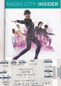 New York Spring Spectacular Musical Laura Benanti Whoopi Goldberg Theatre Pro...