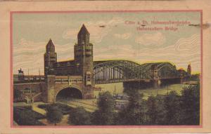 Waterfront View, Hohenzollern Bridge, Hohenzollernbrucke, Coln a. Rhein, Nort...