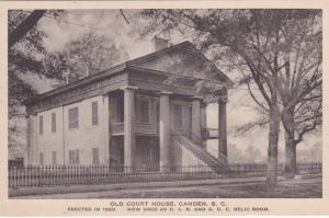Old Court House, Camden, South Carolina, 20-30s