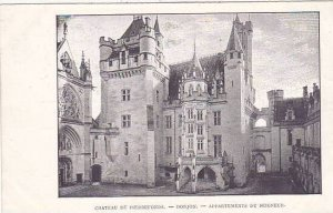 France Pierrefonds Chateau Donjon Appartements du Seigneur