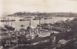 RP, Vue Panoramique Du Port, Constantinople, Turkey, 1920-1940s