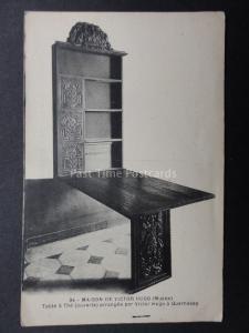 GUERNSEY Maison De Victor Hugo Table a' the (ouverte) Old PC by G.Bouchetal