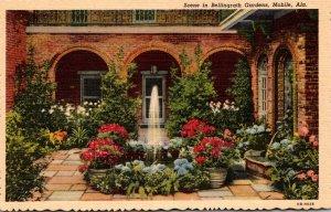 Alabama Mobile Beautiful Scene In Bellingrath Gardens Curteich