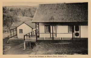 MYER'S CAVE , Ontario , 1930s ; Cottage