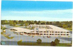 Holiday Inn, U.S. 36 West & Wyckles Rd. Decatur, Illinois, IL, Chrome
