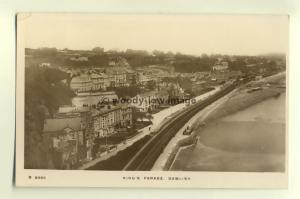 tp5269 - Devon - Looking down on Kings Parade from Lea Mount, Dawlish - Postcard