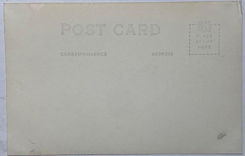 Old EKC Real Photo Postcard RPPC Columbia Glacier, Alaska Unused VG