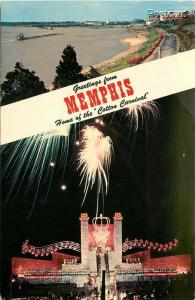 TN, Memphis, Tennessee, Riverside Drive, Royal Barge Cotton Carnival