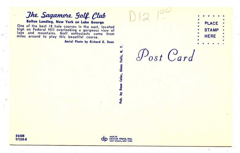 NY - Lake George. Sagamore Golf Club