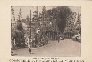 BURMA , 00-10s ; Dagon Pagoda