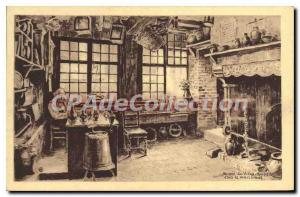 Postcard Old Honfleur Musee Du Vieux Honfleur At The Merchant