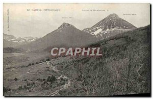 Old Postcard The Circus Picturesque Cantal Mandailles