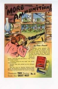 Great West True Stories More Ammunition Curt Teich Postcard