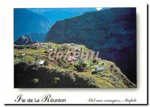 Modern Postcard Reunion Island Islet Orangers Mafate