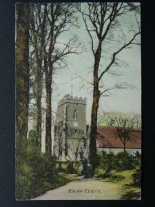 Staffordshire KINVER Church c1906 Postcard by John Price & Sons