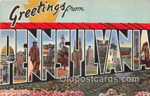 Pennsylvania, USA Postcard Post Cards Pennsylvania, USA