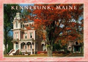 Maine Kennebunkport Victorian Mansion