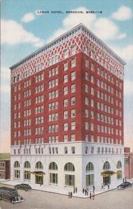 Mississippi Meridian The Lamar Hotel 1949