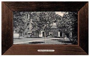 New York  Kingston Old Senate House  , Wood Border
