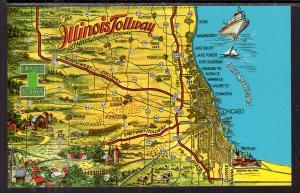 Map Illinois Tollway