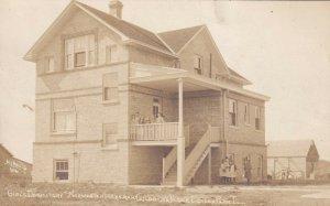 1910 RPPC Edison Park Illinois Norwegian Lutheran Children's Home Separated Race