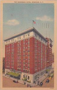 New York Syracuse The Onondaga Hotel 1948