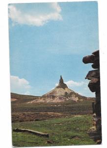 Chimney Rock National Historic Site on Oregon Trail Near Bayard Nebraska