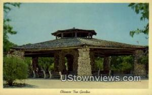 Chinese Tea Garden San Antonio TX Unused