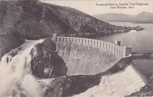 Arizona Phoenix Roosevelt Dam On Apache Trail Highway Albertype