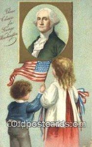 Artist Clapsaddle, George Washington, 1st President USA Political 1909 postal...